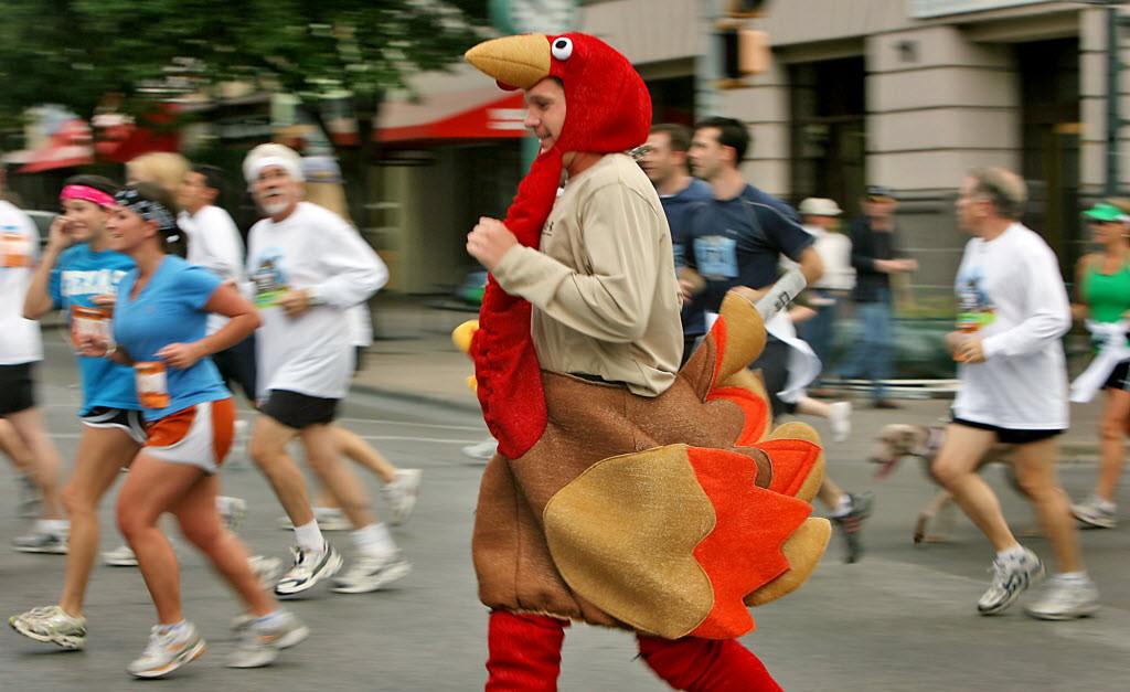 Thanksgiving Turkey Trot  Unusual Thanksgiving Traditions