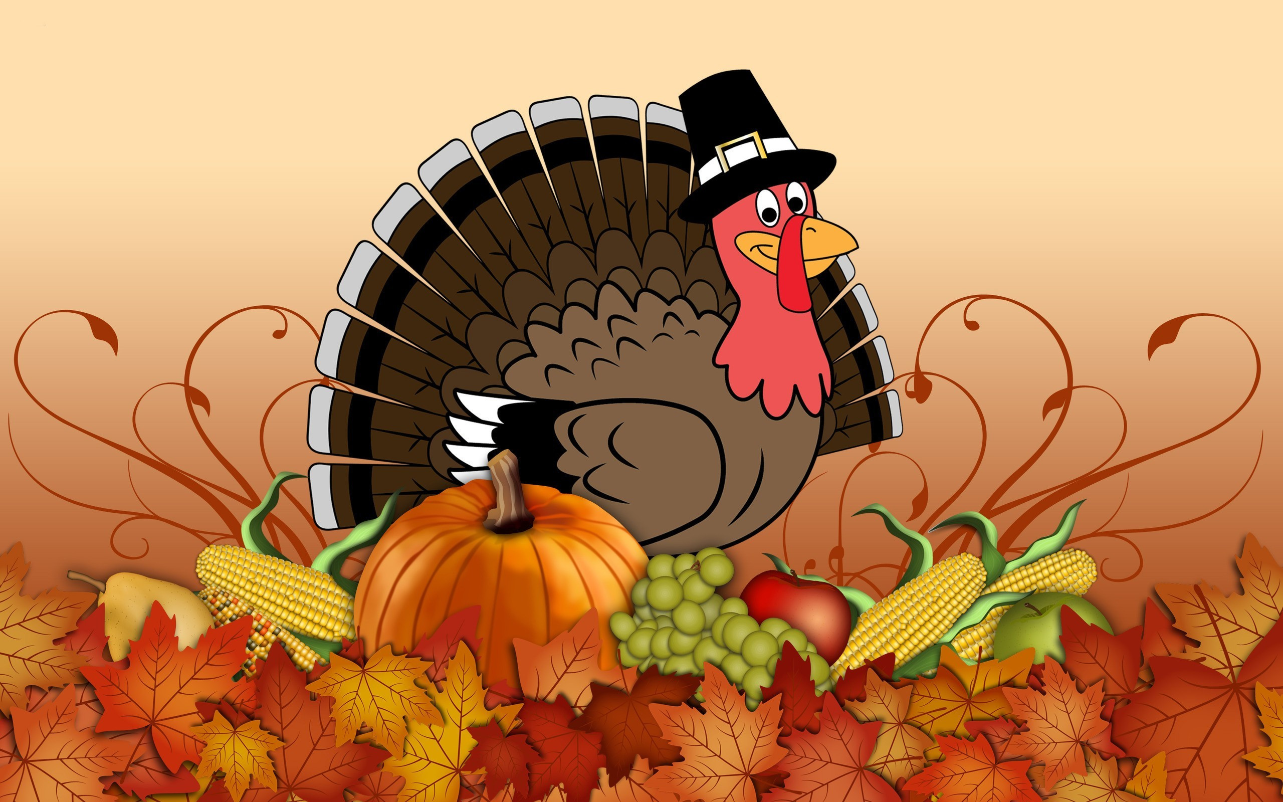 Thanksgiving Turkey Wallpaper  3D Thanksgiving HD Backgrounds