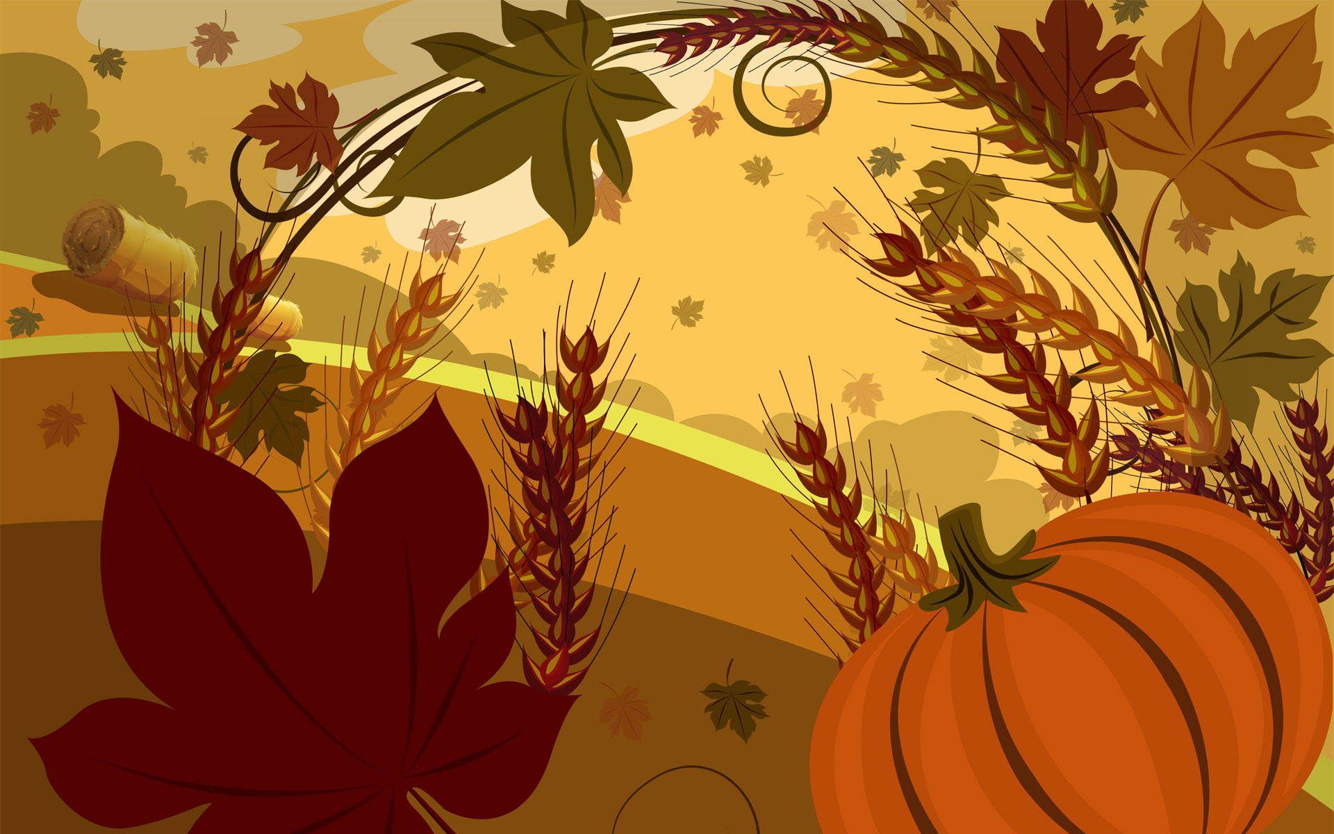 Thanksgiving Turkey Wallpaper  Free Thanksgiving Backgrounds