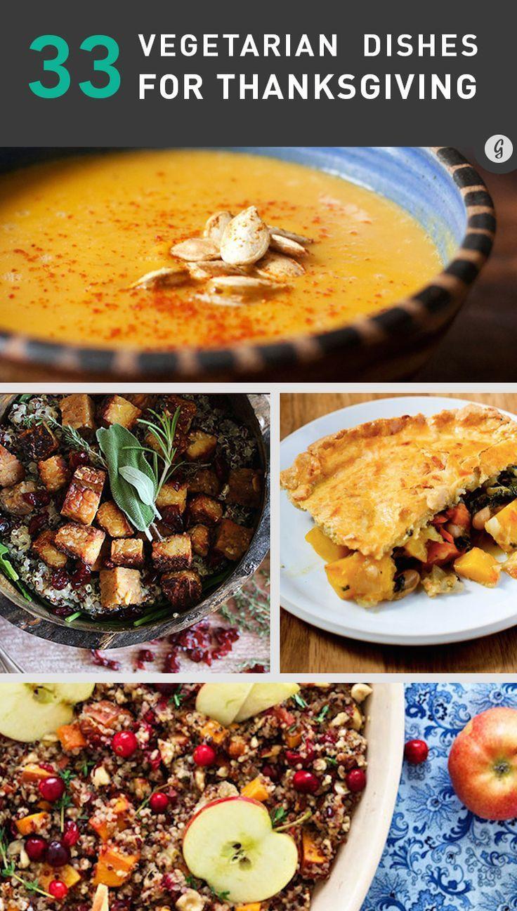 Thanksgiving Vegetarian Dish  206 best Thanksgiving images on Pinterest