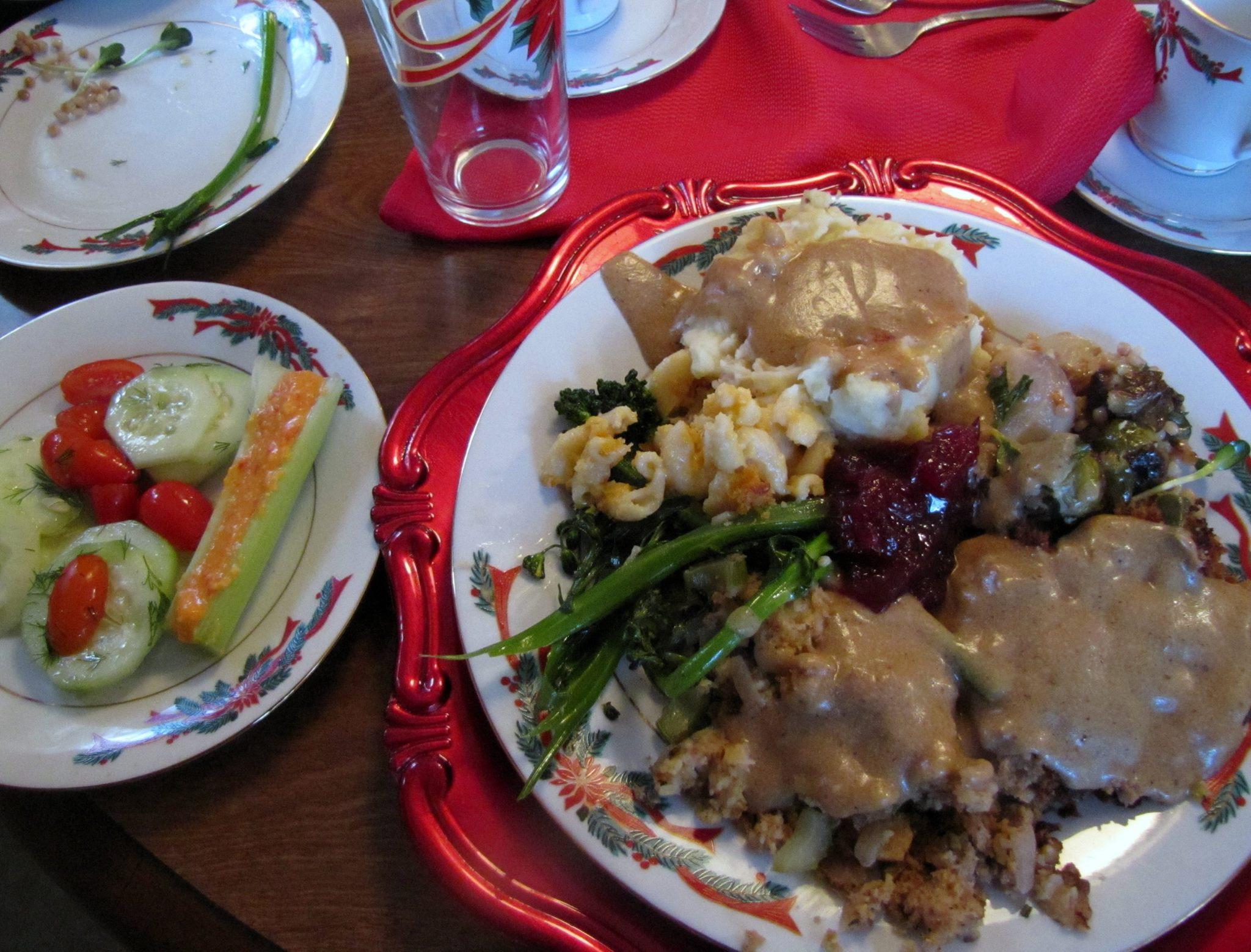 Thanksgiving Vegetarian Dish  Ve arian Thanksgiving Menu – & Main Dish Stuffing Recipe
