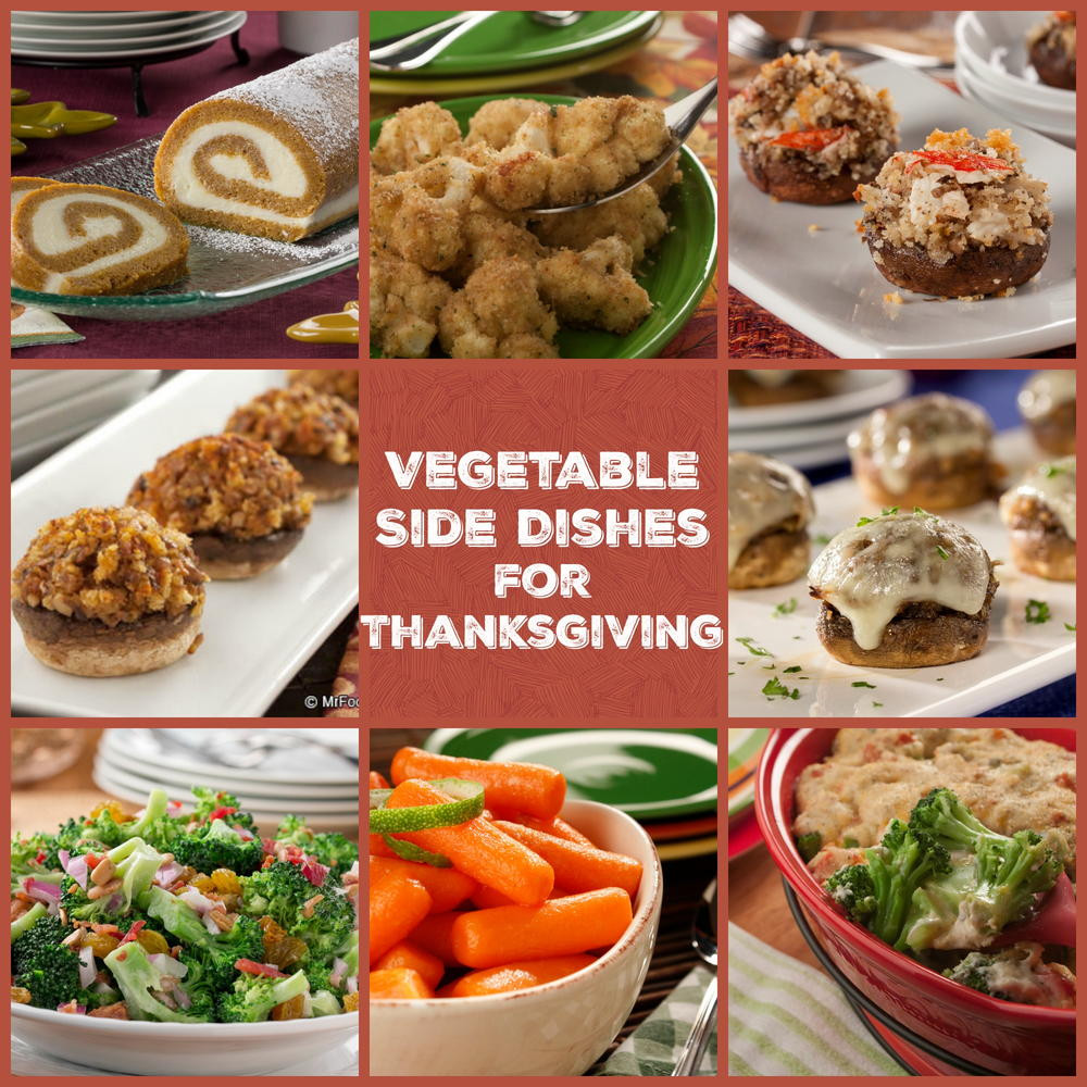 Thanksgiving Vegetarian Dishes  100 Ve able Side Dishes for Thanksgiving