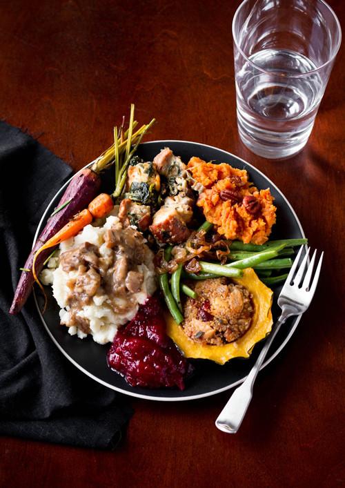 Thanksgiving Vegetarian Dishes  A Ve arian Thanksgiving Menu