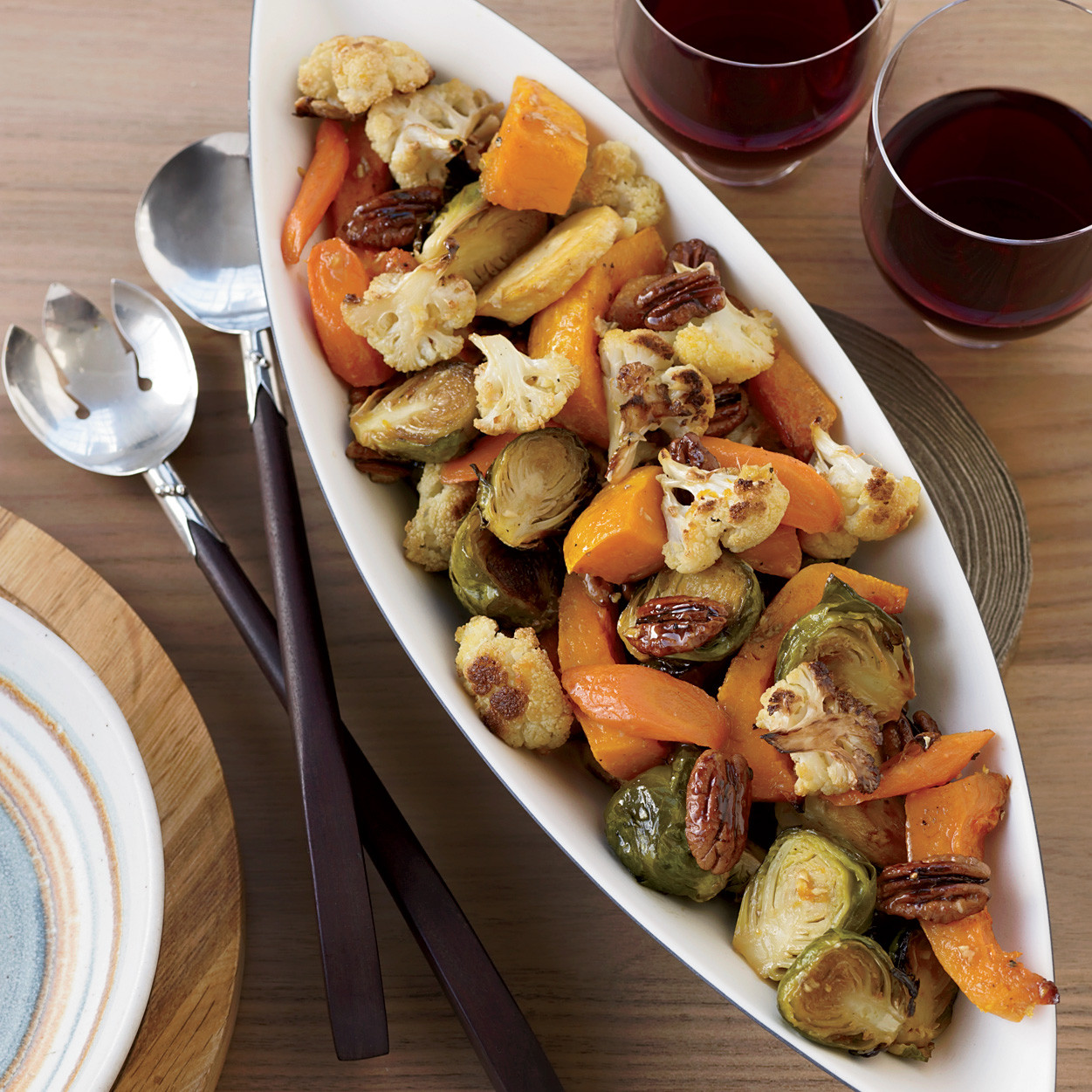 Thanksgiving Vegetarian Dishes  Perfecting Thanksgiving Dinner Ve ables