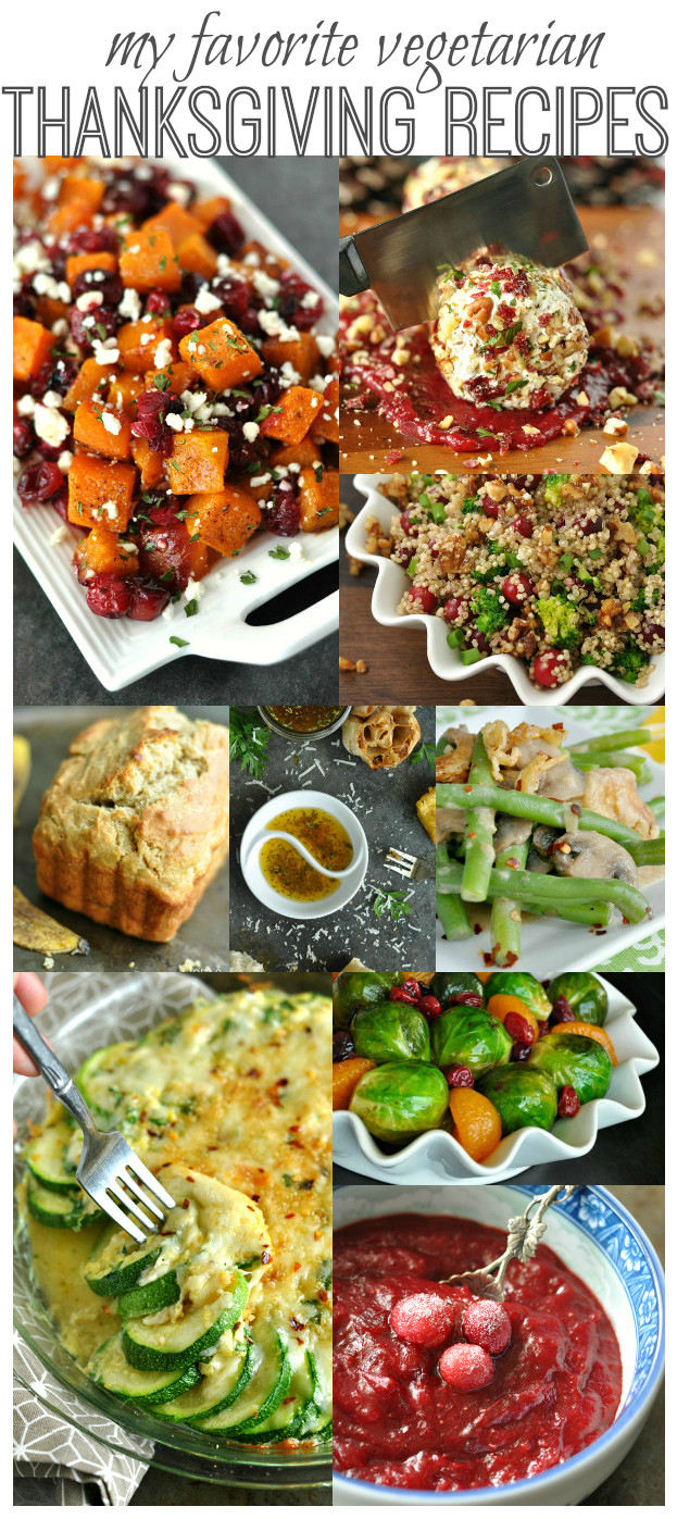 Thanksgiving Vegetarian Dishes  My Favorite Ve arian Thanksgiving Dishes
