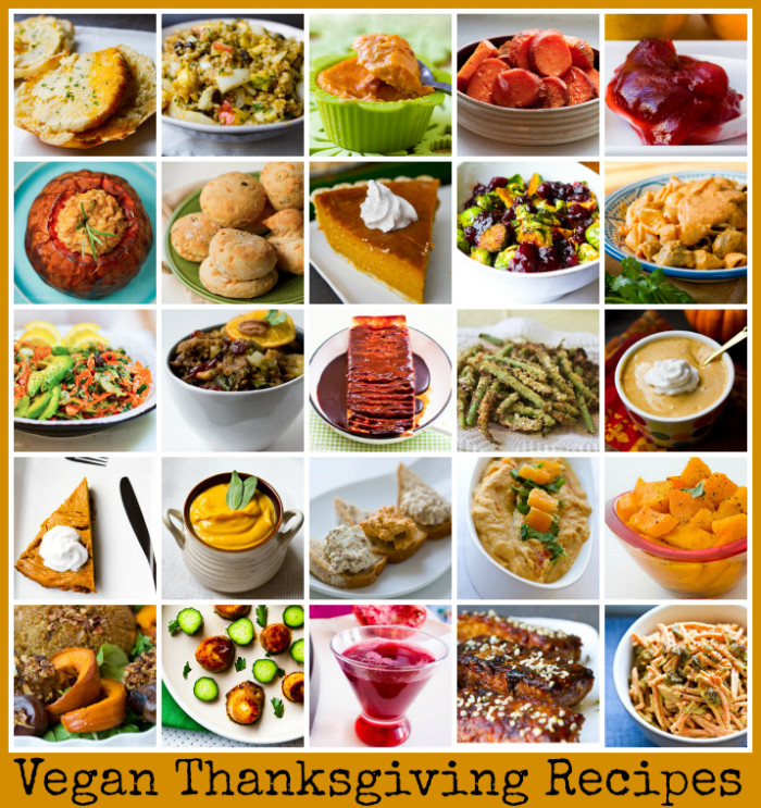 Thanksgiving Vegetarian Dishes  Vegan Thanksgiving Recipes Mega Recipe Round up Vegan