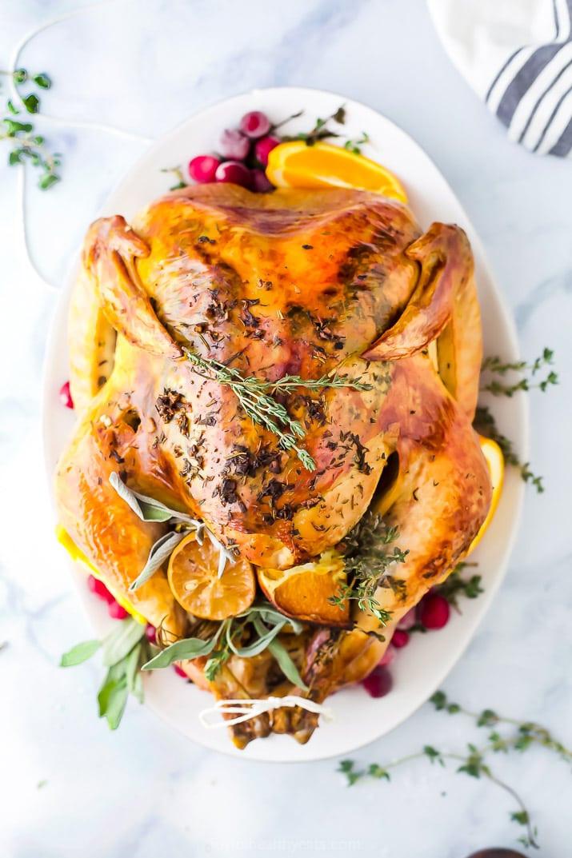 Thanksgiving Without Turkey  The Best Thanksgiving Turkey Recipe No Brine