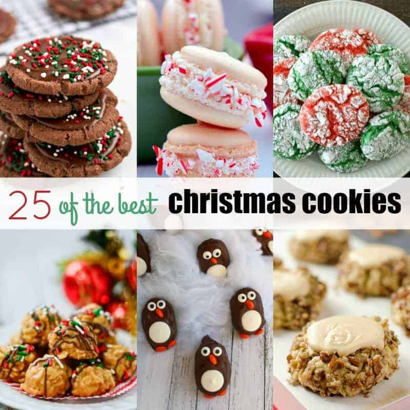 The Best Christmas Cookies  25 of the Best Christmas Cookies ⋆ Real Housemoms