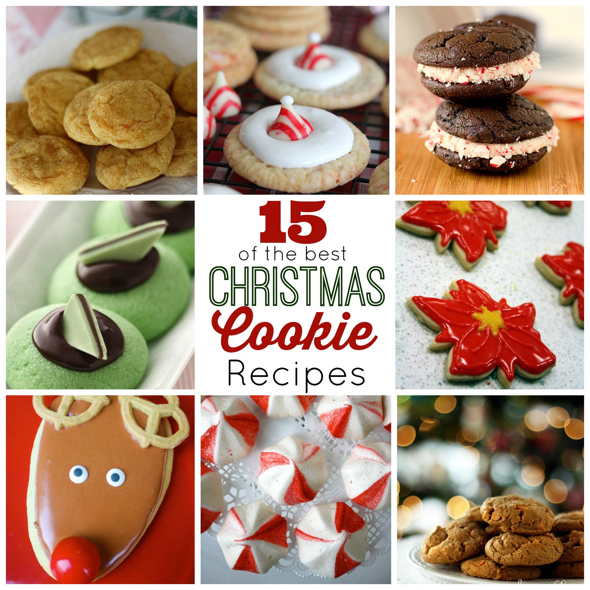 The Best Christmas Cookies  15 of the Best Christmas Cookies