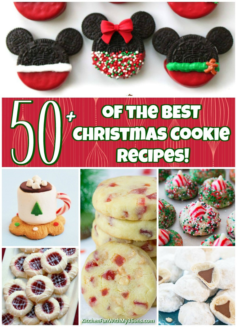 The Best Christmas Cookies  50 of the BEST Christmas Cookie Recipes Kitchen Fun