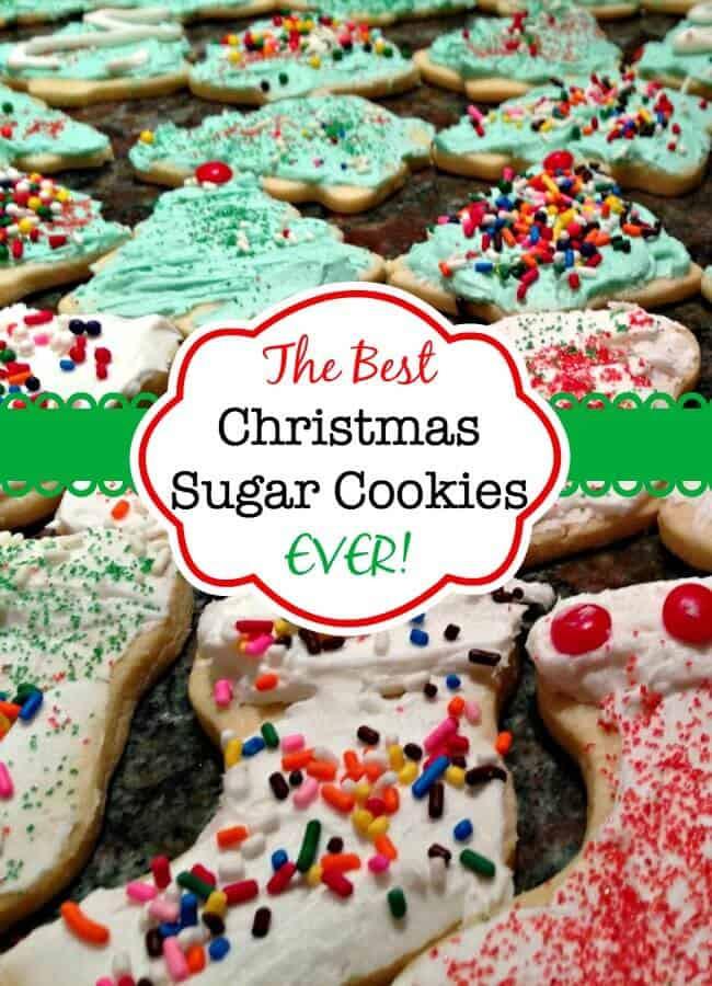 The Best Christmas Cookies  The Best Christmas Sugar Cookies EVER Mom 6