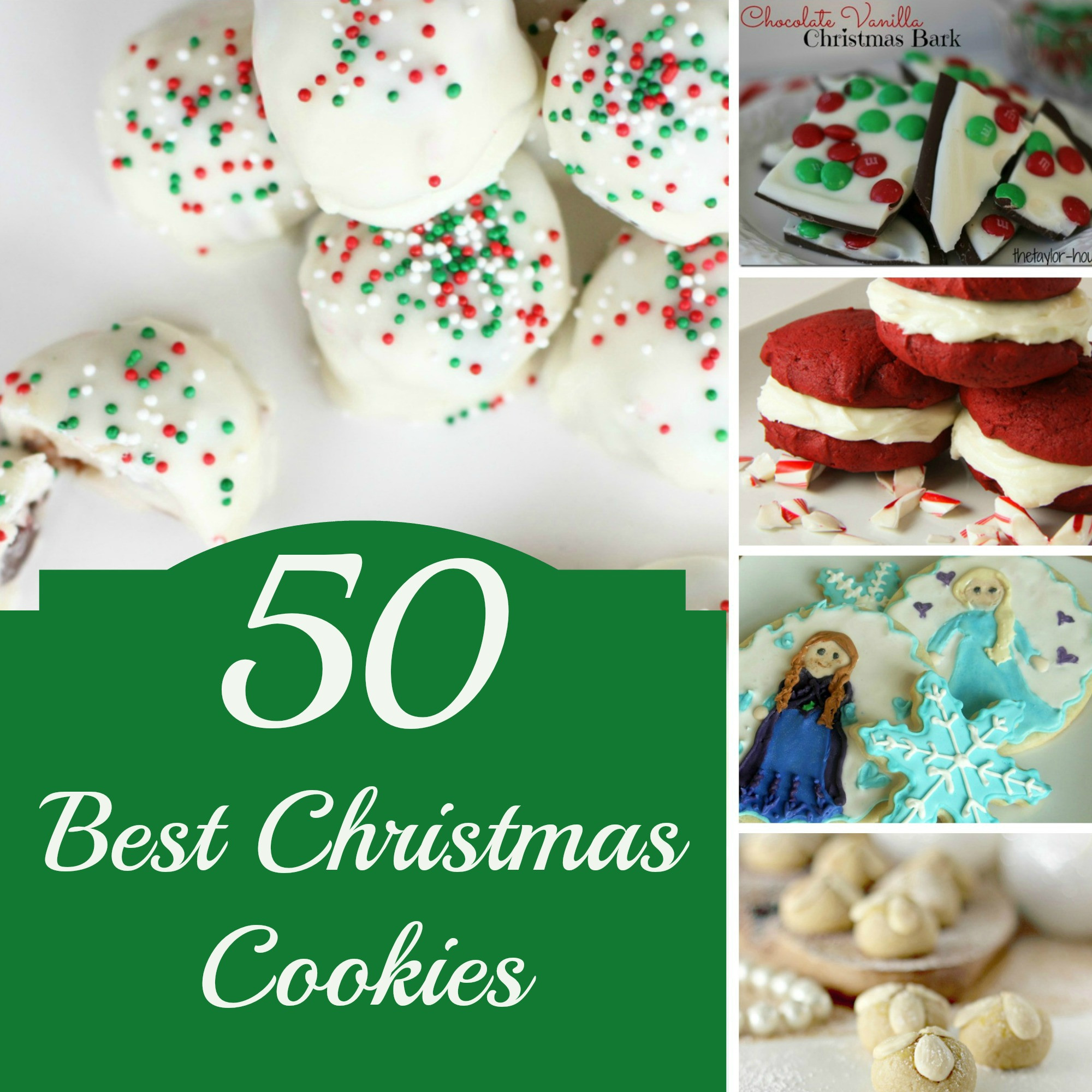 The Best Christmas Cookies  50 BEST Christmas Cookies to Make this Year