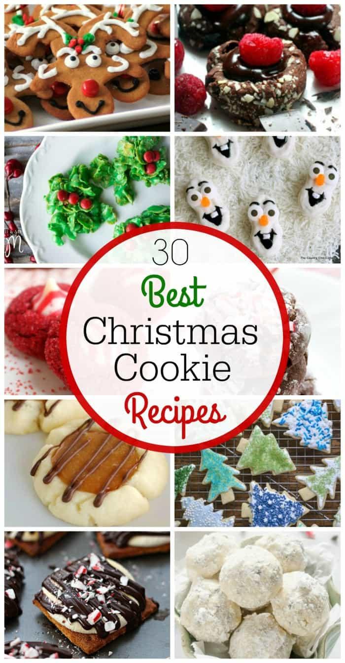 The Best Christmas Cookies  The 30 Best Christmas Cookie Recipes LemonsforLulu