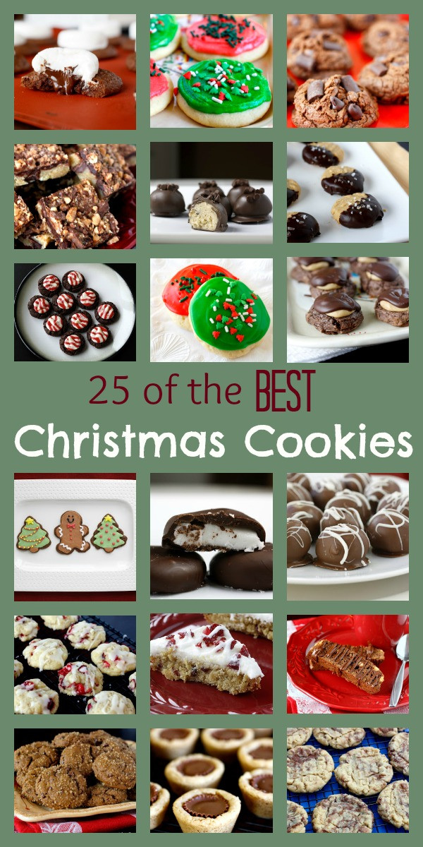 The Best Christmas Cookies  25 of the Best Christmas Cookies Ever