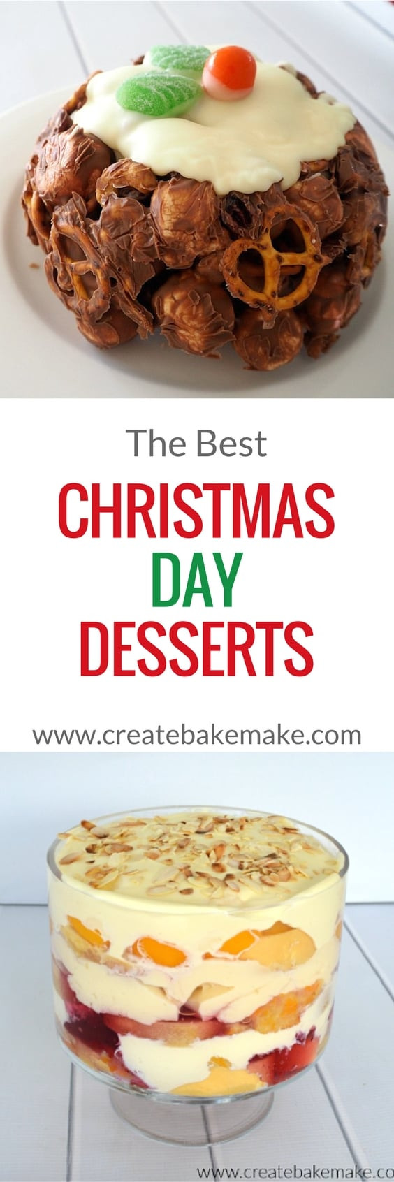 The Best Christmas Desserts  The Best Christmas Day Desserts Create Bake Make