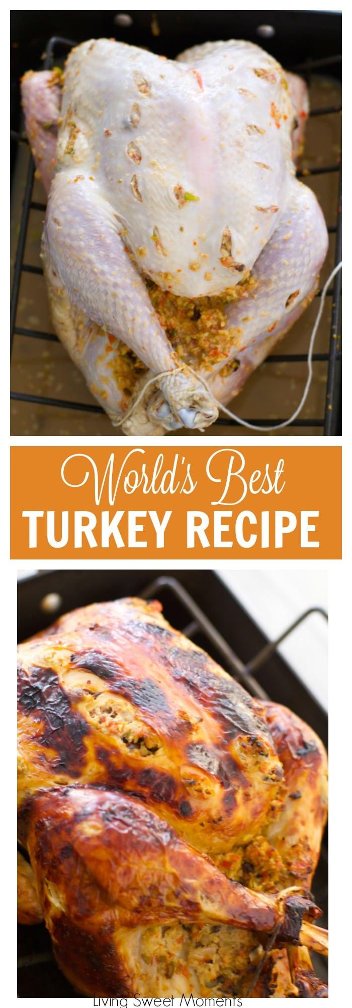 The Best Thanksgiving Turkey  The World s Best Turkey Recipe A Tutorial Living Sweet