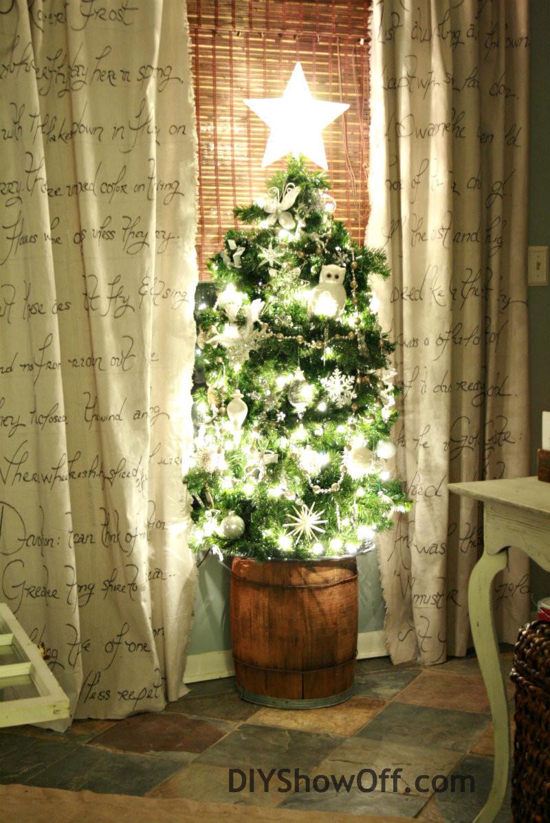 Tomato Cage Christmas Tree  7 Alternative Christmas Trees for a Green Christmas
