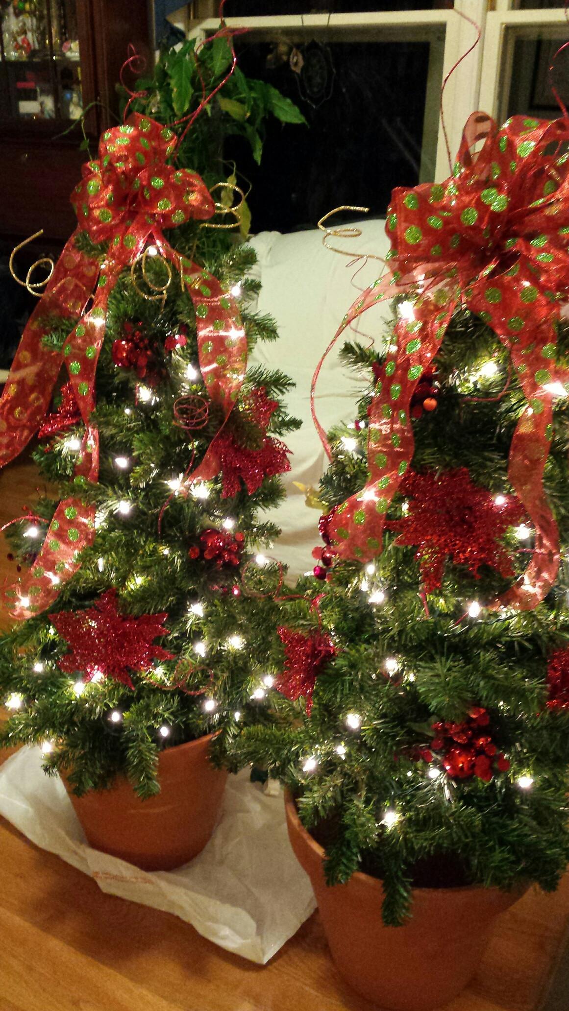 Tomato Cage Christmas Tree  Tomato Cage Christmas Trees – Wendy Jane Creations