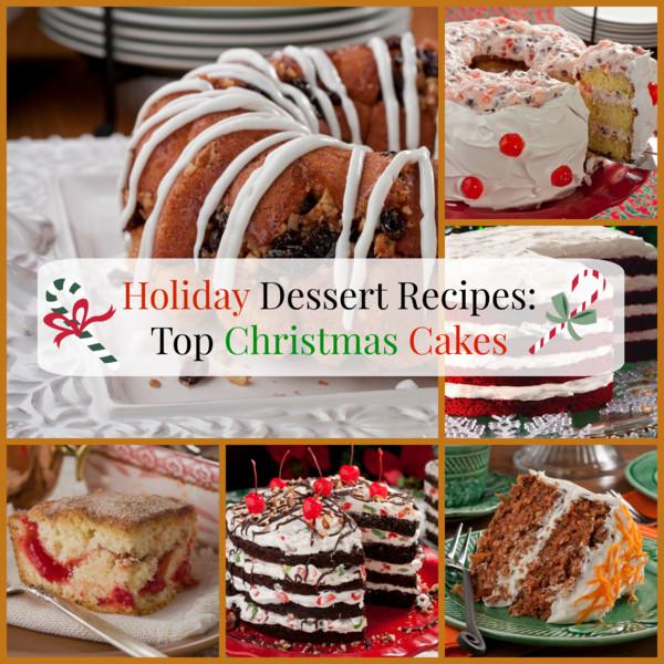 Top 10 Christmas Cake Recipes  Holiday Dessert Recipes Top 10 Christmas Cakes
