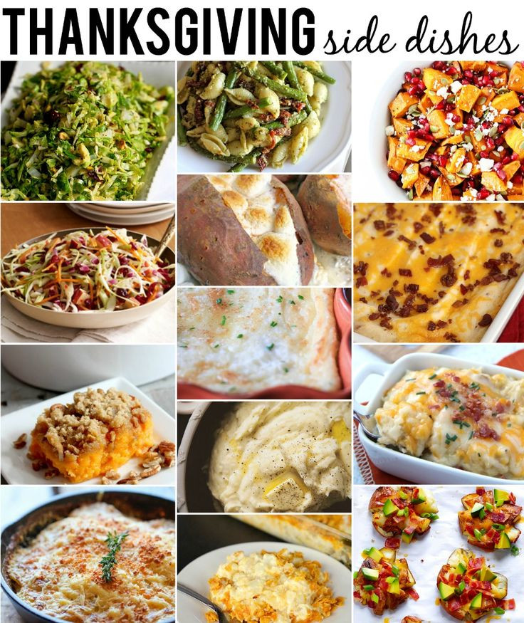 Top Thanksgiving Side Dishes  80 best Happy Thanksgiving images on Pinterest