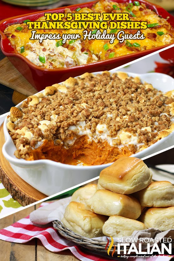 Top Thanksgiving Side Dishes  Top 5 Best Ever Thanksgiving Day Side Dishes