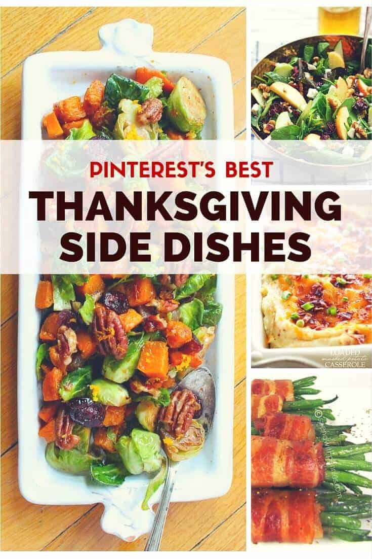 Top Thanksgiving Side Dishes  The Best Thanksgiving Side Dishes on Pinterest Princess