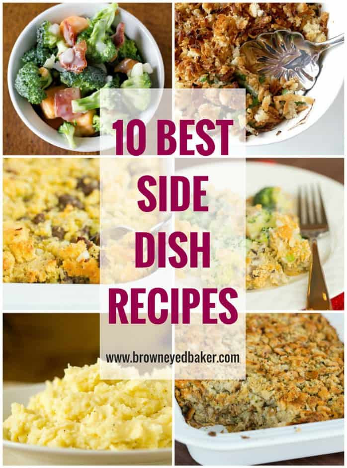 Top Thanksgiving Side Dishes  Top 10 Side Dish Recipes