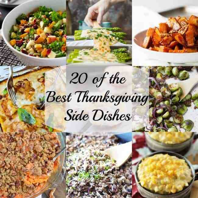 Top Thanksgiving Side Dishes  20 of the Best Savory Thanksgiving Side Dishes