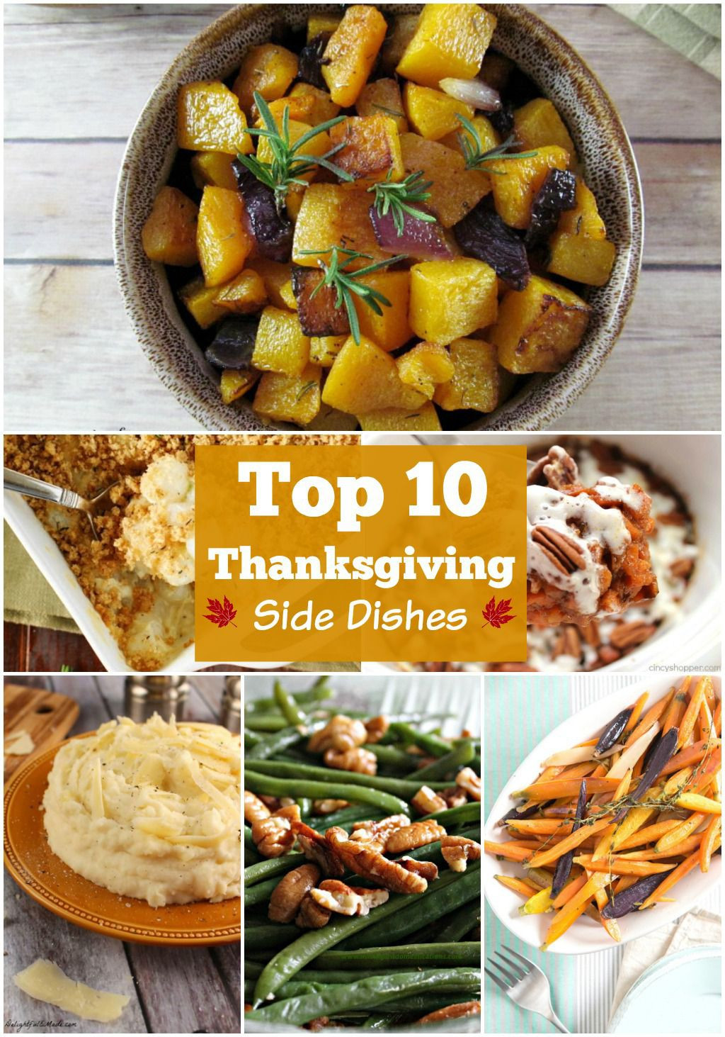 Top Thanksgiving Side Dishes  10 BEST Thanksgiving Side Dishes