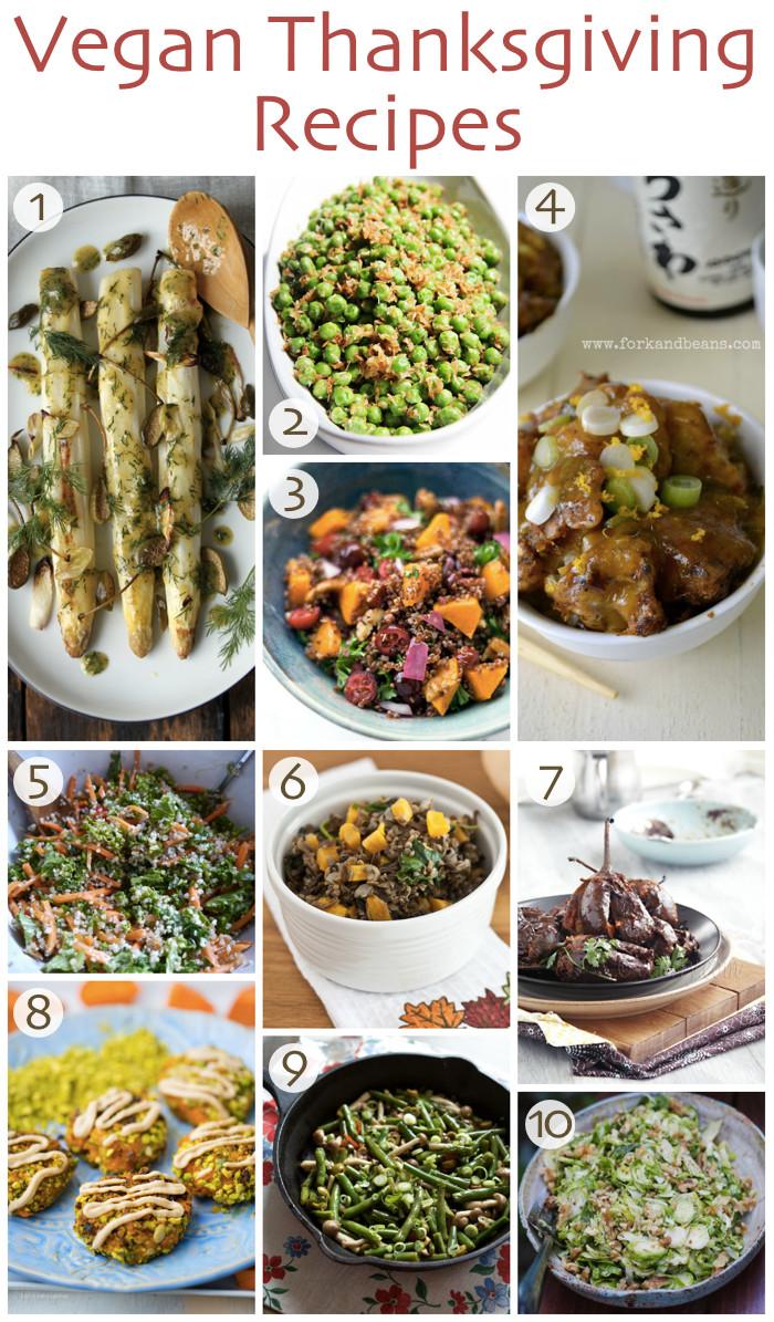 Top Vegetarian Thanksgiving Recipes  10 Vegan Thanksgiving Recipes