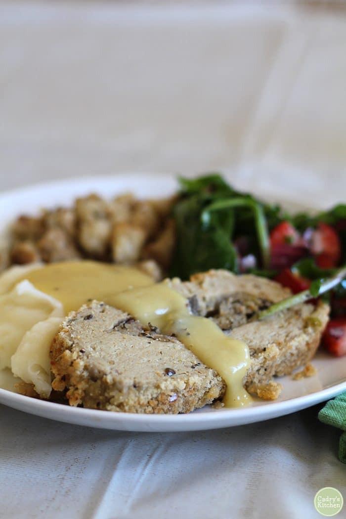 Trader Joe'S Thanksgiving Turkey  Vegan Thanksgiving leftovers sandwich Cadry s Kitchen