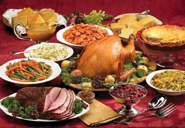 Traditional American Christmas Dinner  Best Restaurants Open For Thanksgiving Dinner 2016 In Los