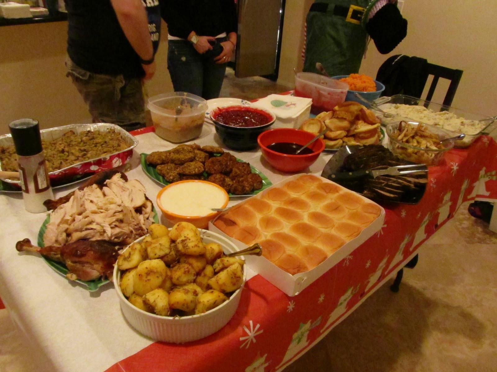 Traditional American Christmas Dinner  Orphans' Christmas Dinner 2010