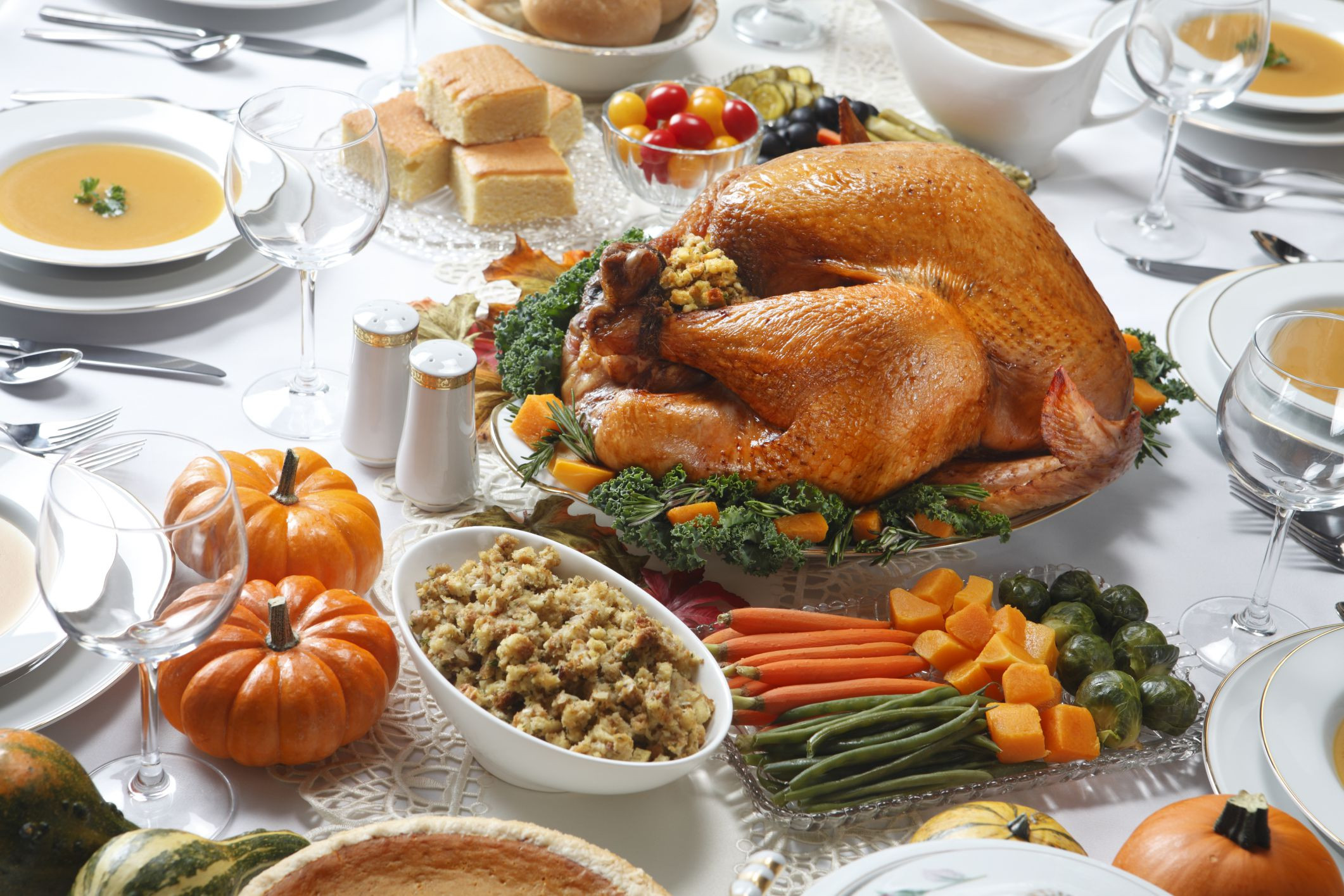 Traditional American Thanksgiving Dinner  How to Make a Traditional Thanksgiving Meal Gluten Free