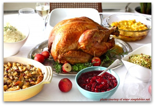 Traditional American Thanksgiving Dinner  Traditional Thanksgiving Dinner Menu