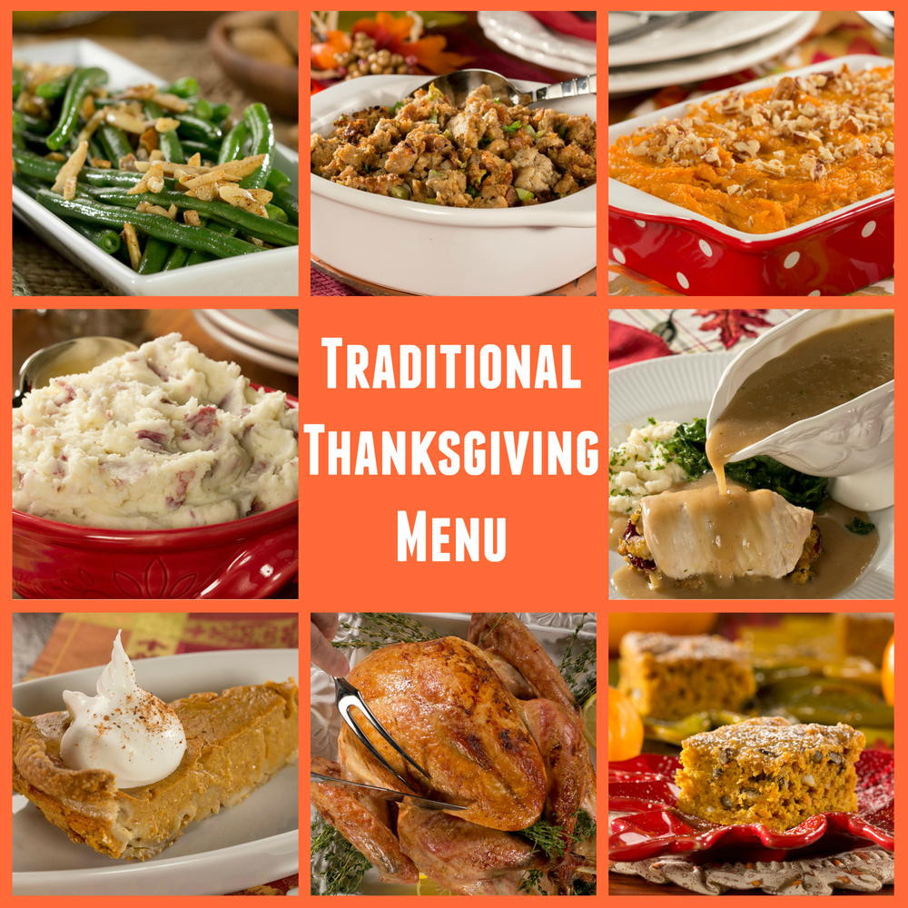 Traditional American Thanksgiving Dinner  Diabetic Friendly Traditional Thanksgiving Menu