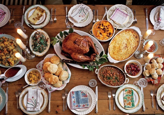Traditional American Thanksgiving Dinner  Take Two
