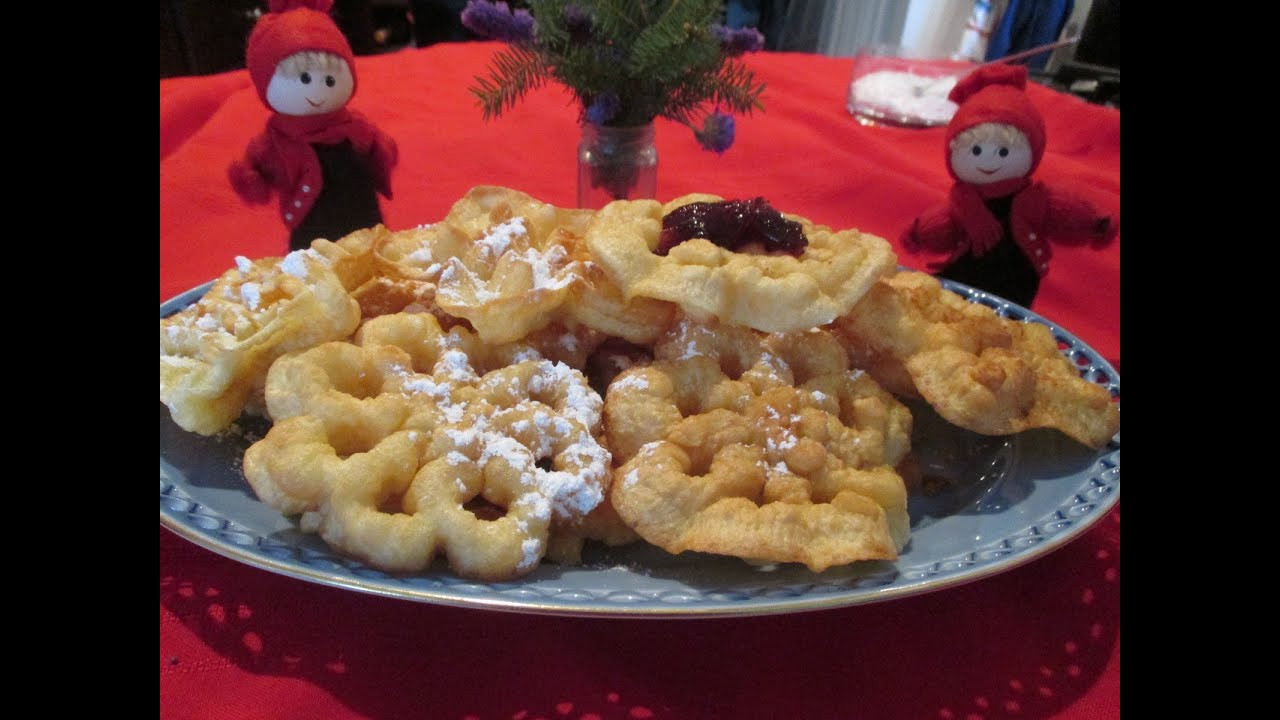 Traditional Christmas Cookies List  Scandinavian Rosette Cookies A traditional homemade
