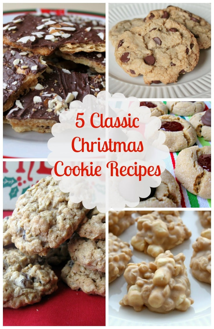 Traditional Christmas Cookies List  Top 5 Classic Christmas Cookie Recipes All Things Mamma