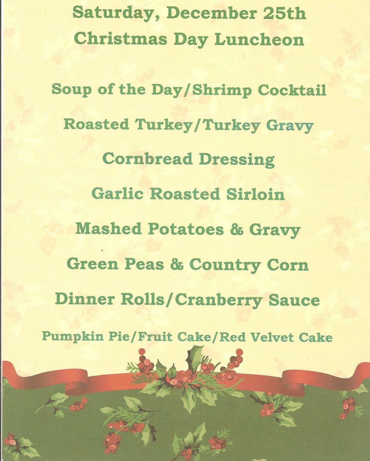 Traditional Christmas Dinner Menu  english victorian christmas dinner menu