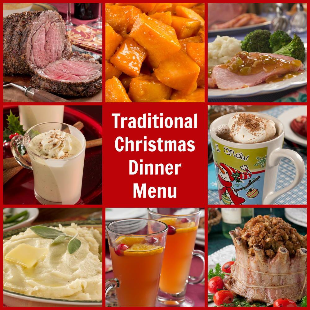 Traditional Christmas Dinner Menu  Traditional Christmas Dinner Menu