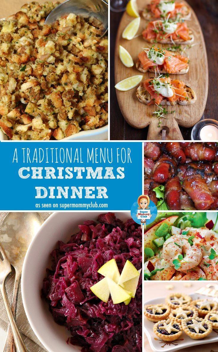 Traditional Christmas Dinner Menu  25 best ideas about Traditional christmas dinner on
