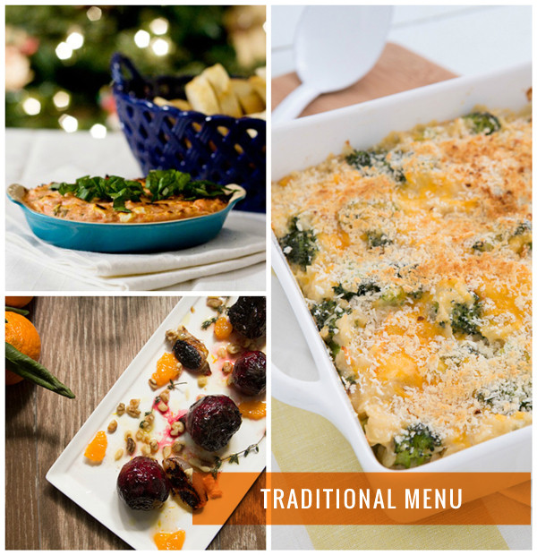 Traditional Christmas Dinner Menu  4 Ve arian Christmas Dinner Menus