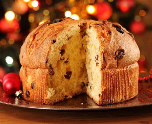 Traditional Christmas Sweet Bread  Traditional Italian Panettone Christmas Bread