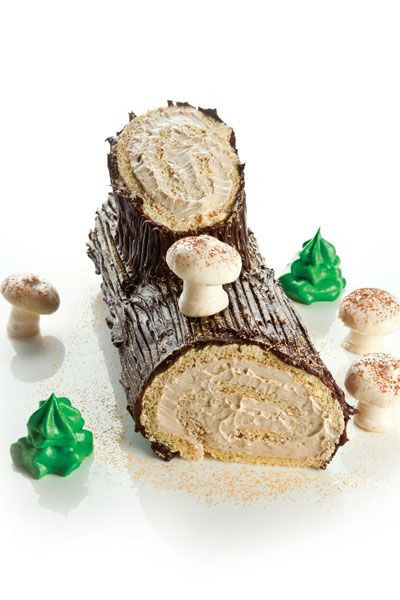 Traditional French Christmas Desserts  This traditional French Christmas dessert