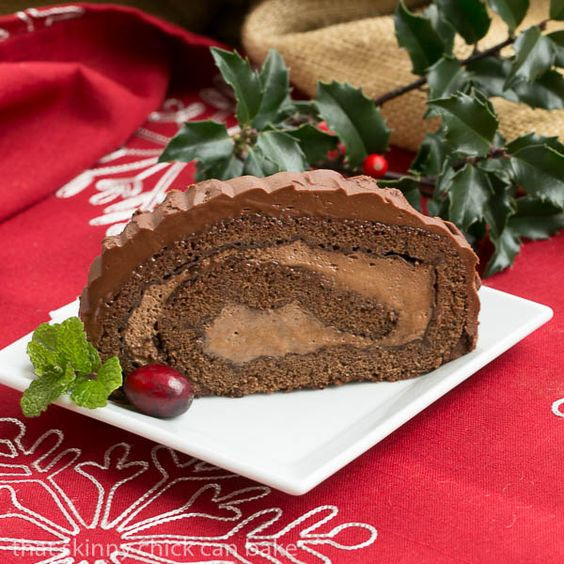 Traditional French Christmas Desserts  Yule log Yule and French christmas on Pinterest