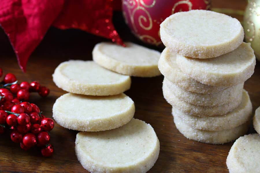 Traditional German Christmas Desserts  Heidesand Traditional German Browned Butter Shortbread
