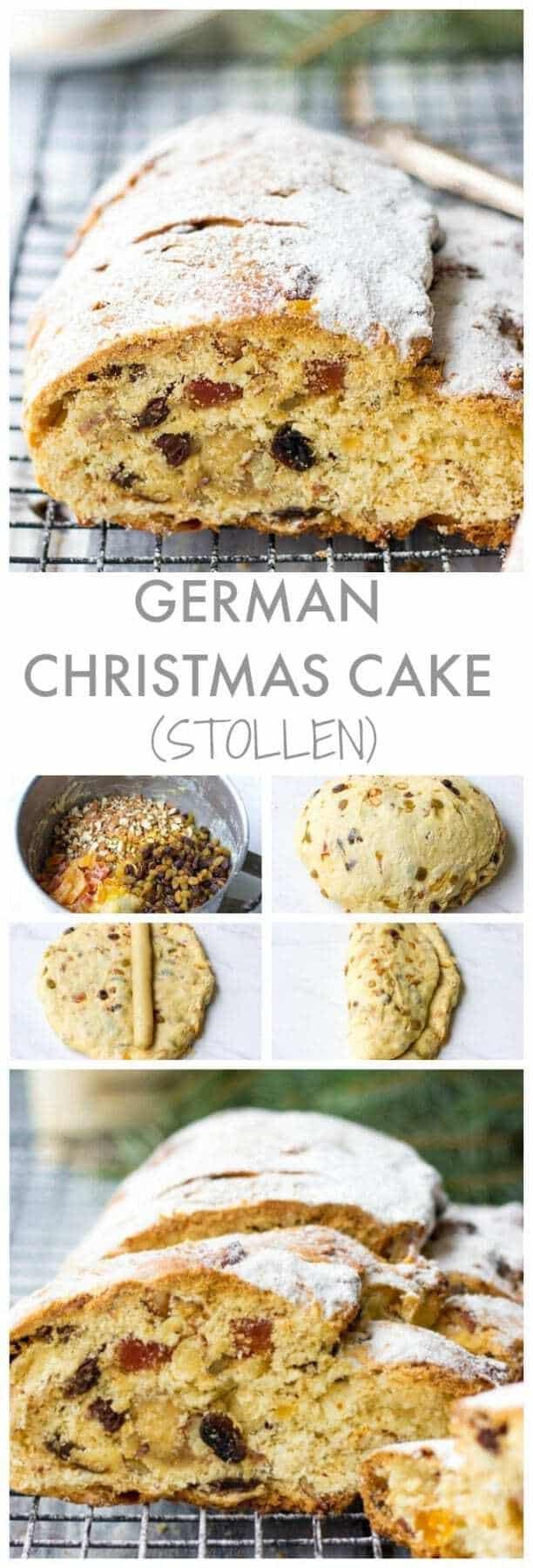 Traditional German Christmas Desserts  German Christmas Cake Stollen Recipe Lavender & Macarons