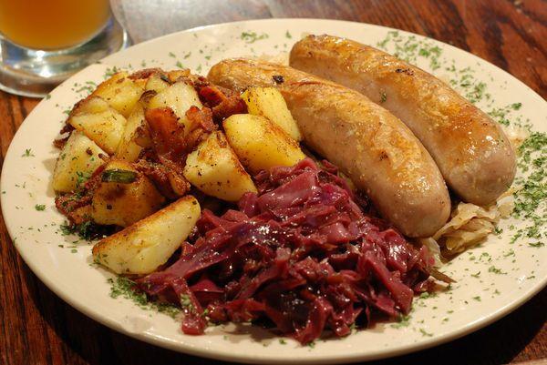 Traditional German Christmas Dinner  Traditional German dinner European Foods