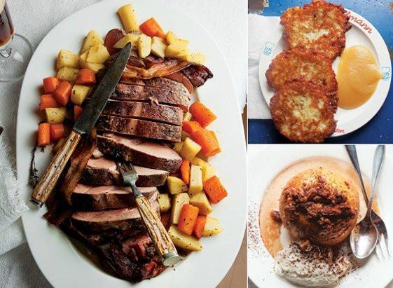 Traditional German Christmas Dinner  Error